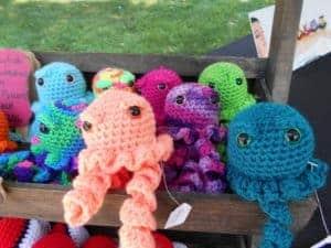 Free Jellyfish Crochet Pattern | Hooked by Kati