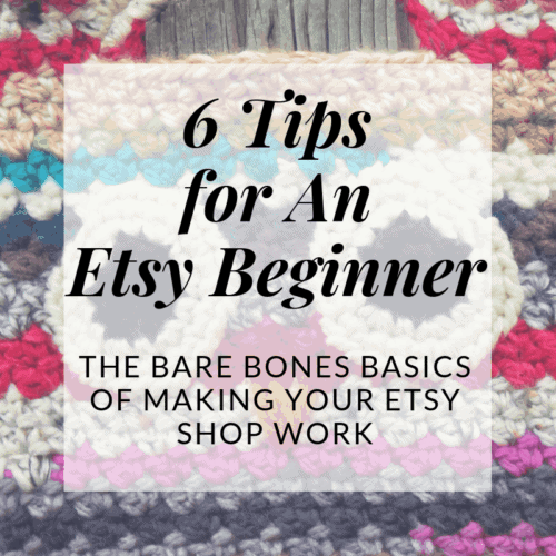 starting out on etsy for beginners   Hooked by Katistarting out on etsy for beginners   Hooked by Kati
