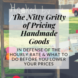 pricing crochet work defending the hourly method | Hooked by Kati