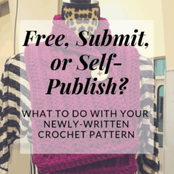 free submit or self-publish your crochet patterns | Designer's Corner | Hooked by Kati