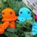 jellyfish free crochet amigurumi pattern Hooked by Kati