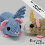 Guineacorn and Pigasus | Free Crochet Pattern