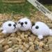 free baby seal amigurumi crochet pattern | Hooked by Kati