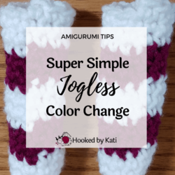 Jogless Crochet Color Changes in the Round