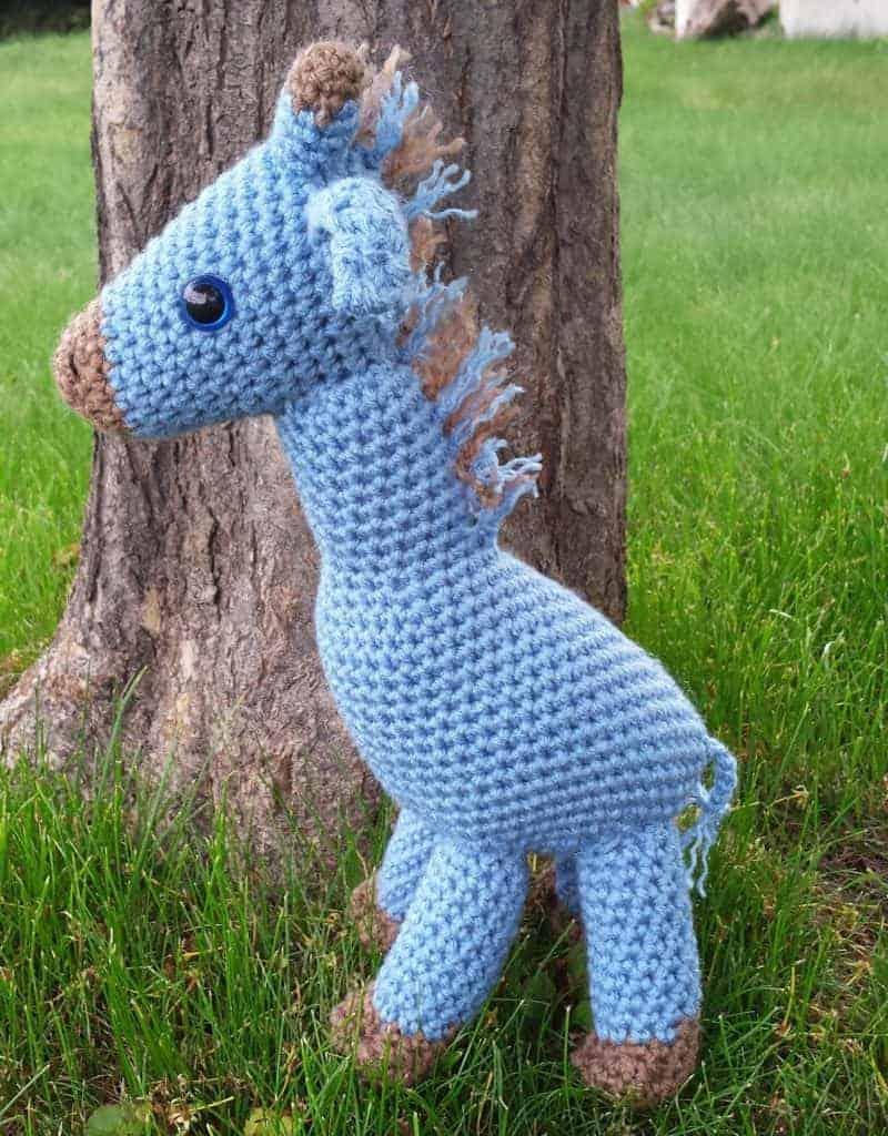 free amigurumi giraffe crochet pattern