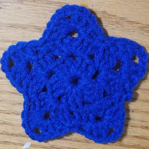 granny stitch star crochet pattern