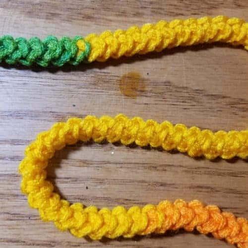 easy crochet cord   romanian cord