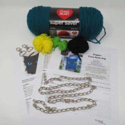 dragon cross body bag complete kit