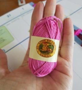mermaid planner clip crochet pattern | Hooked by Kati