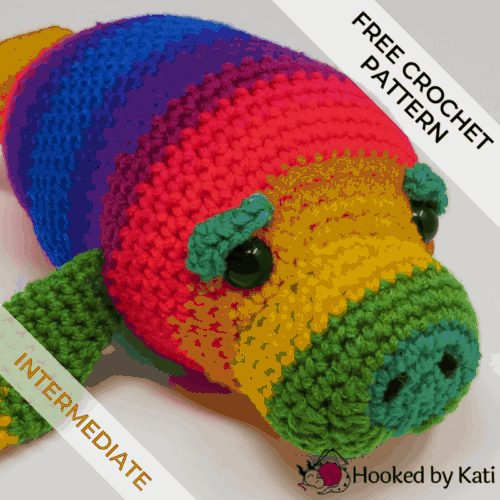 Hue the Manatee | Free Crochet Pattern