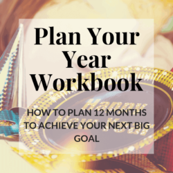 Plan Your Year Free Downloadable Workbook, Break your goals into pieces to make your dreams come true | Hooked by Kati