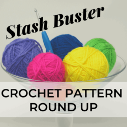 Stash Buster crochet pattern round up | Hooked by Kati