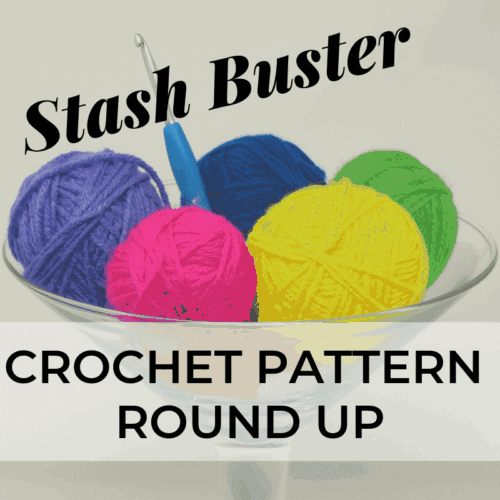 Stash Buster crochet pattern round up   Hooked by Kati