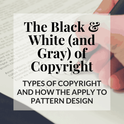 All about copyright laws for crochet designers. Types of right offered by magazines and know what you own and what you don't from a legal perspective.