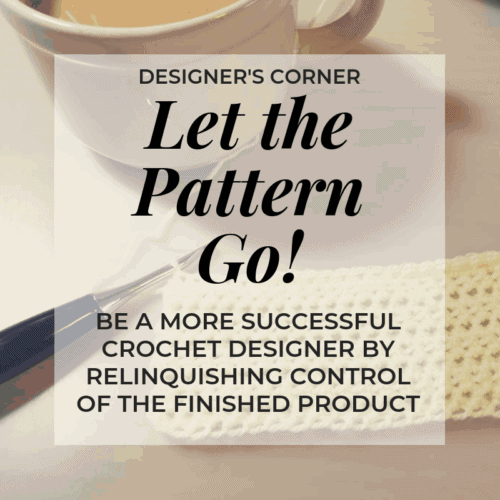 Grow your design business by letting go of control over your patterns | Hooked by Kati