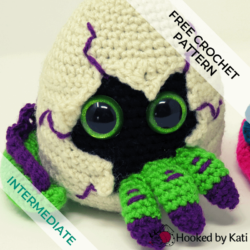 Hatching Dragon Egg Free Crochet Pattern feature image