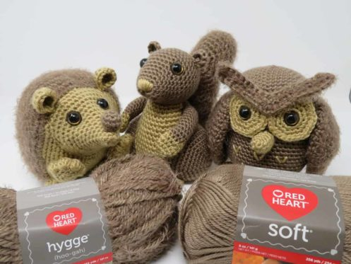 Hygge Woodland Critter series for Underground Crafter