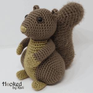 hygge squirrel printable .pdf amigurumi pattern