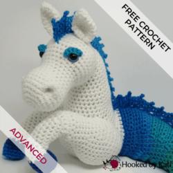 free kelpie amigurumi crochet pattern