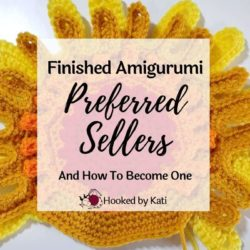 Finished amigurumi preferred sellers made from Hooked by Kati patterns