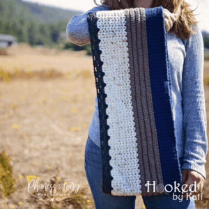 Everyday Everywhere Scarf printable crochet pattern Hooked by Kati
