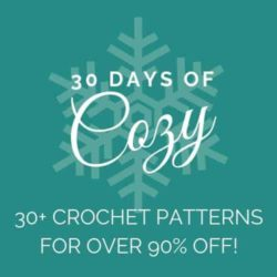 30 Days of Cozy, 30 Patterns from your favorite designers, plus an awesome giveaway!