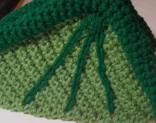 Vincent the Dragon amigurumi crochet pattern surface crochet wing diagram