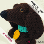 Schnitzel the Dachshund | Free Crochet Pattern