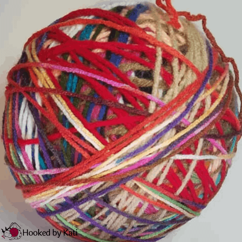 How to Tie A Magic Knot from Hooked by Kati