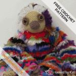 Scrappy the Sloth | Free Crochet Pattern