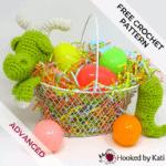 Dragon Easter Basket | Free Crochet Pattern