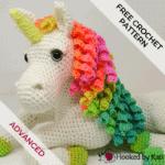 Ulyssa the Unicorn | Free Crochet Pattern