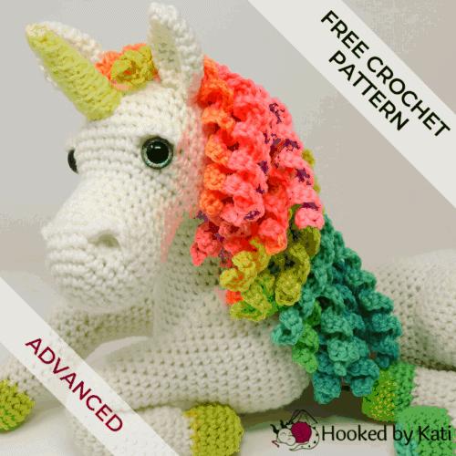 Ulyssa the Unicorn amigurumi crochet pattern