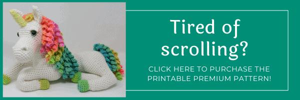 ulyssa the unicorn crochet pattern
