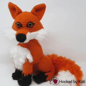 Clark the Fox amigurumi pattern, premium, printable