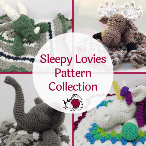Sleepy Lovies Pattern Collection from Hooked by Kati, a Premium printable .pdf