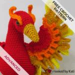 Ember the Phoenix | Free Crochet Pattern