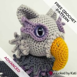 photo of owlcat crochet amigurumi