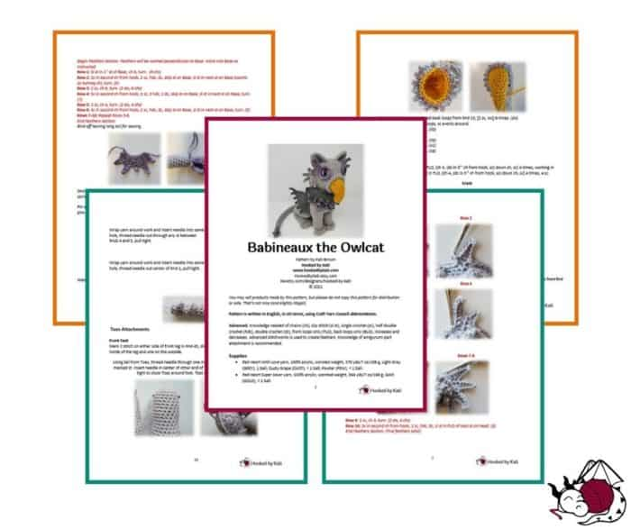snapshots of babineaux the owlcat premium pattern
