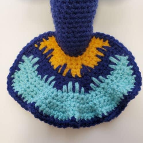 Betta Merman amigurumi pattern pic