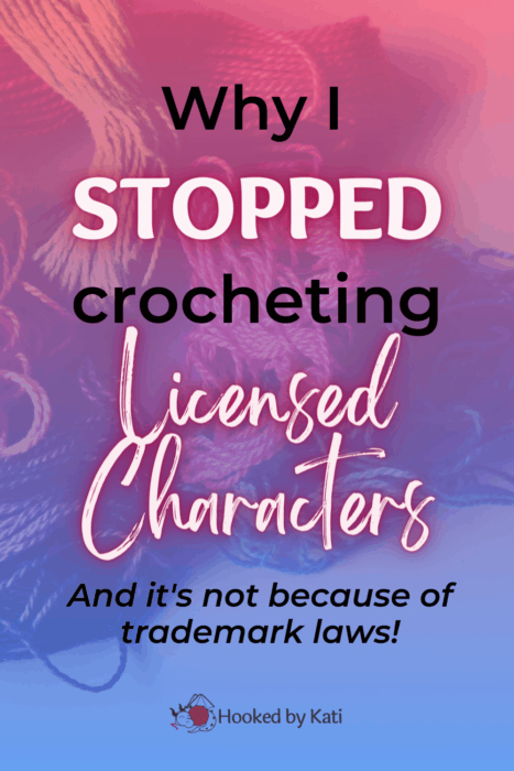 Why I stopped making licensed characters, and it's not because of trademark laws!